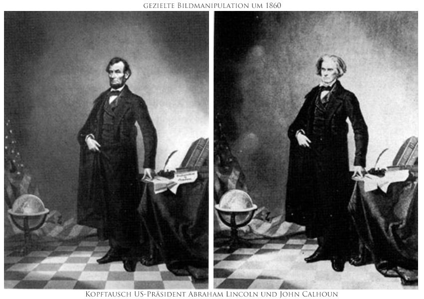 Bildbearbeitung, Bildmanipulation, Geschichte