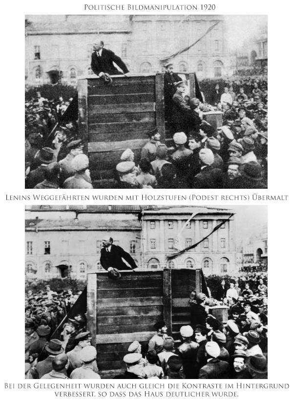 Bildmanipulation, Bildbearbeitung, Geschichte, Fotokurs
